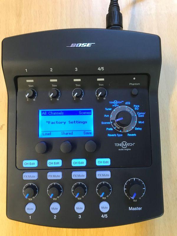 Bose T1 Tone Match Audio