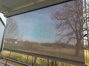 Senkrechtrollo für Balkon oder Terrasse