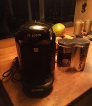 Bosch Tassimo Kaffeekapselmaschine schwarz mit