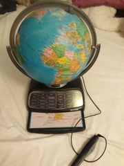 Lernspiel Globus