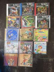 verkaufe 14 verschiedene Hörspiel-CDs für