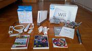 Wii mit Zubehör