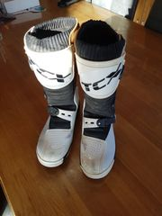 TCX Motocross Enduro Stiefel weiß