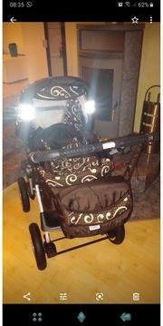 Kinderwagen mit Maxicosi