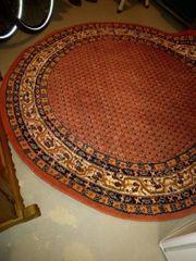 Indischer Teppich 200cm Durchmesser