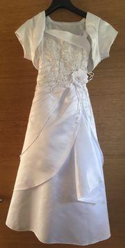 Festliches weißes Kleid ca Gr