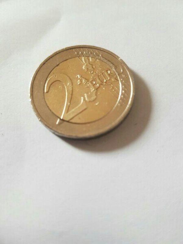 2 euro münze fehlprägung sehr