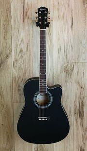 Keytone Basic Westerngitarre mit Cutaway