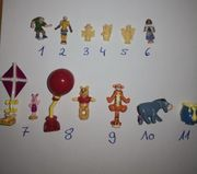 Polly Pocket Disney Figuren 1995