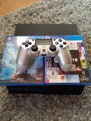 Playstation 4 mit 6 spielen