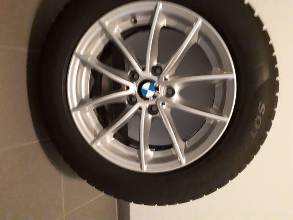 4 Original-BMW-Alu- Winterräder 225 60