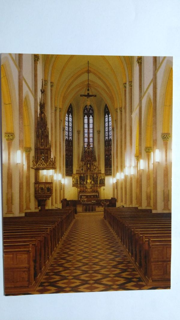 AK Stadtpfarrkirche St Nikolaus Zwiesel