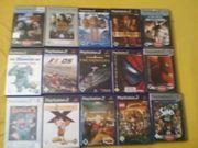 PS 2 Spiele Sammlung