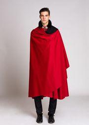 Tabarro rosso imperiale italiano