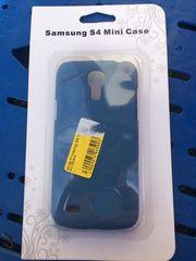 Blaue Hülle für Samsung S4