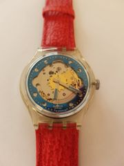 Swatch Red Ahead Automatic