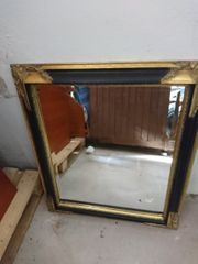 Kristallglasspiegel Barock