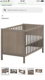 IKEA Sundvik Babybett neu