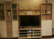 Wohnzimmer Ikea Magiker Wohnwand weiss