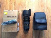 Nikon AF-S Nikkor 24-70mm f2