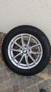Gebrauchte BMW Alufelgen mit Winterreifen