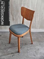 Restaurierte neugepolsterte vintage TON Stühle -