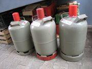 3 Propangasflaschen leer Eigentumsflaschen