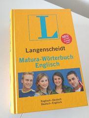 Neuwertig Englisch English Matura Wörterbuch