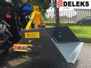 DELEKS PRM-120-L mechanische Heckschaufel Dreipunktaufnahme