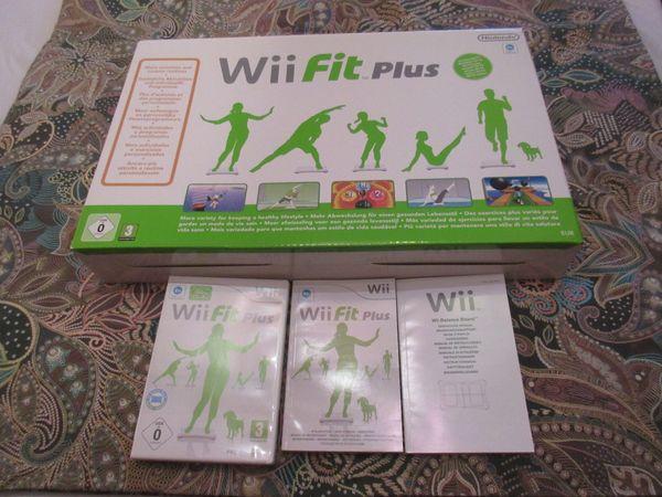 Fitnessgerät Wii fit plus von