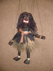 Marionette aus Sri Lanka