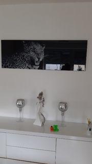 Glaswandbild 120 x 40 cm
