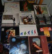 Verkaufe diverse Vinyl LPs