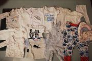 Getragene Babykleidung überwiegend Größe 56