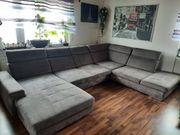 Neuwertig Große Couch-Landschaft Wohnlandschaft Farbe