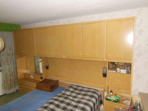 Bettüberbau Schrankwand