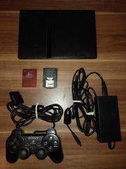 Playstation 2 mit Controller Spielen