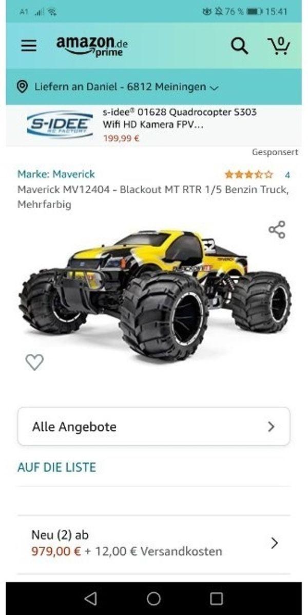 Monstertruck 1 5 Benziner