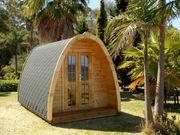 Campinghaus POD Holzhaus L590cm NEU
