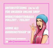 Online-Shop Job in Hamburg Vollzeit