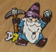 Dwarfs7 Kartenspiel - Promo Pin