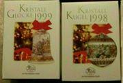 Hutschenreuther Kristalllocke 1998 Kristallkugel 1999