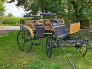 Neuwertiger Jagdwagen Hochzeitskutsche