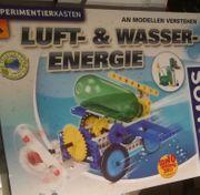 KOSMOS Experimentierkasten SOLAR-LUFT WASSER-ENERGIE