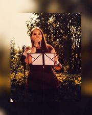 Hochzeits- und Event- Sängerin Gesang