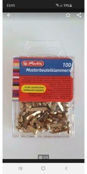 Musterbeutelklemmen für Versandtaschen98 Stück
