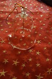 3 Glasglocken Weihnachtsdeko Deko zu