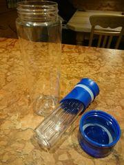 Trinkflasche mit Fruchteinsatz BPA frei