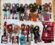 Monster High Puppen Teil 2
