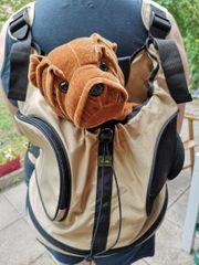 Hunter Hunde-Rucksack Hunde-Tragetasche Kangaroo beige